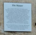 <h5>Thanks Karsten Ratzke</h5><p>Alsfeld, Volkmarstraße 6, Berliner Mauer by Karsten Ratzke - Own work. Licensed under &lt;a title=&quot;CC0&quot; via href=&quot;https://commons.wikimedia.org/wiki/File:Alsfeld,_Volkmarstra%C3%9Fe_6,_Berliner_Mauer.JPG&quot; target=&quot;_blank&quot;&gt;Wikimedia Commons&lt;/a&gt;</p>