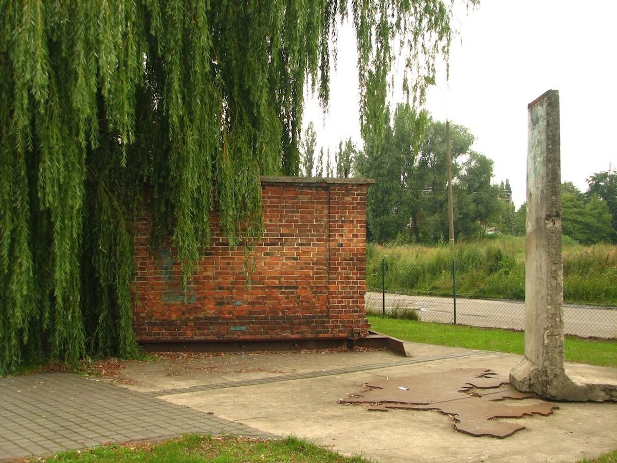 The Berlin Wall in Danzig, Poland