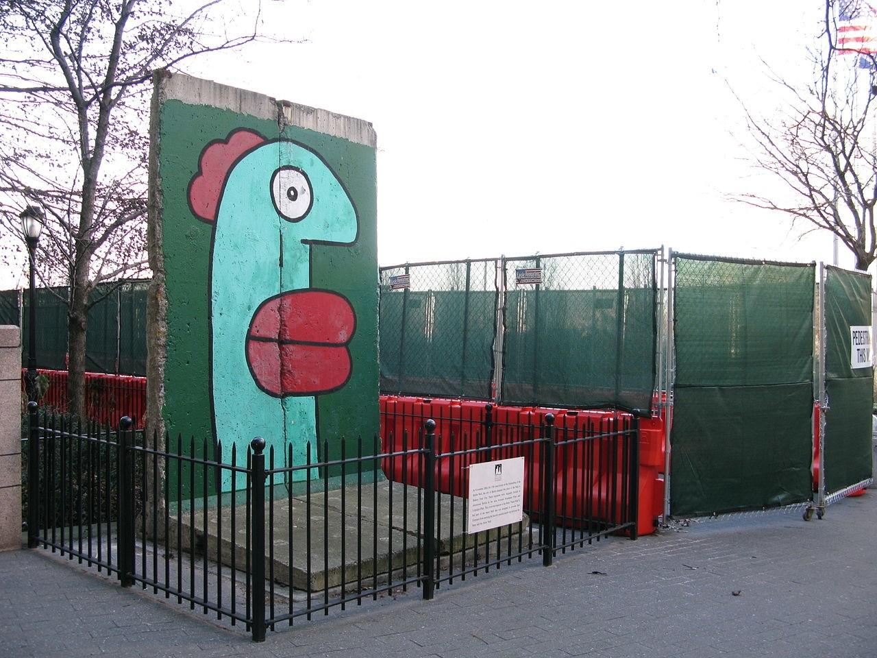 The Berlin Wall in New York City, NY