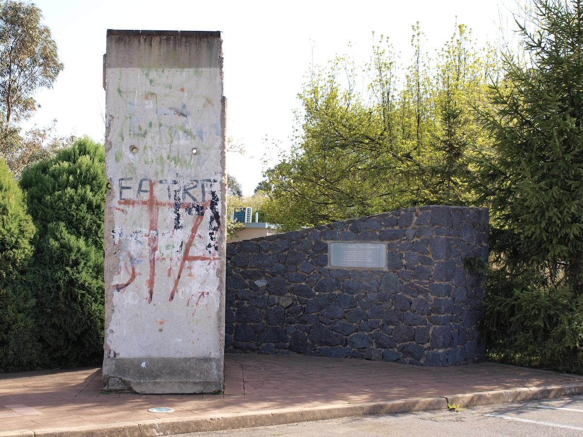 Berliner Mauer in Canberra