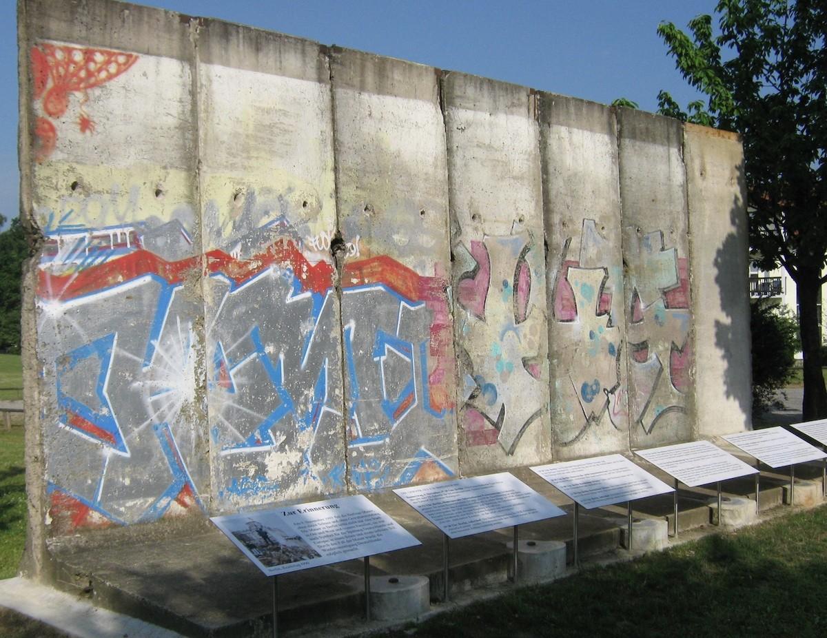 Berliner Mauer in Diedorf
