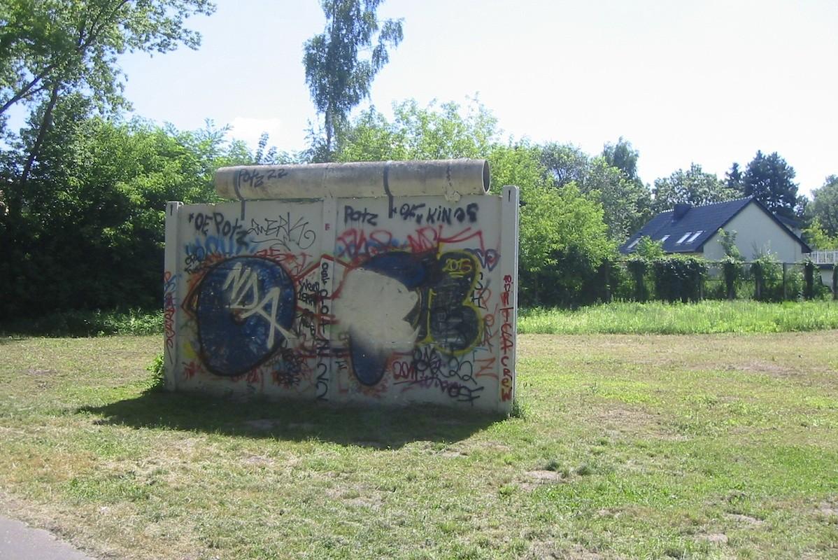 Berliner Mauer in Groß Glienicke