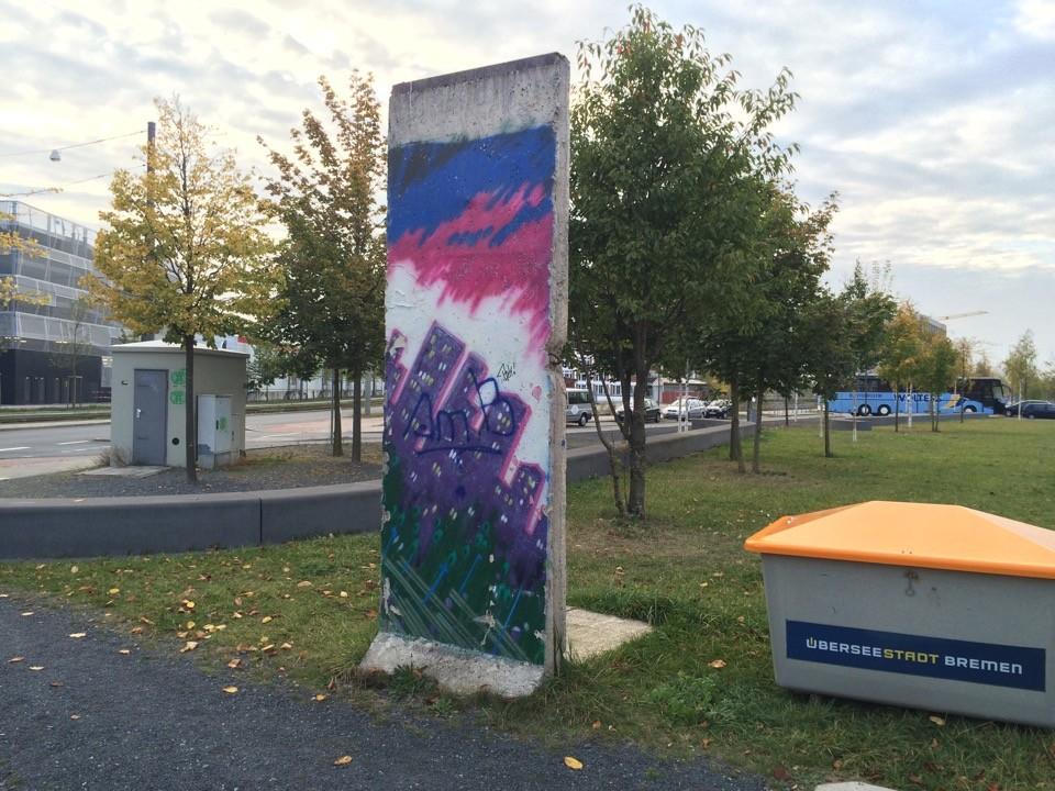 Berliner Mauer in Bremen