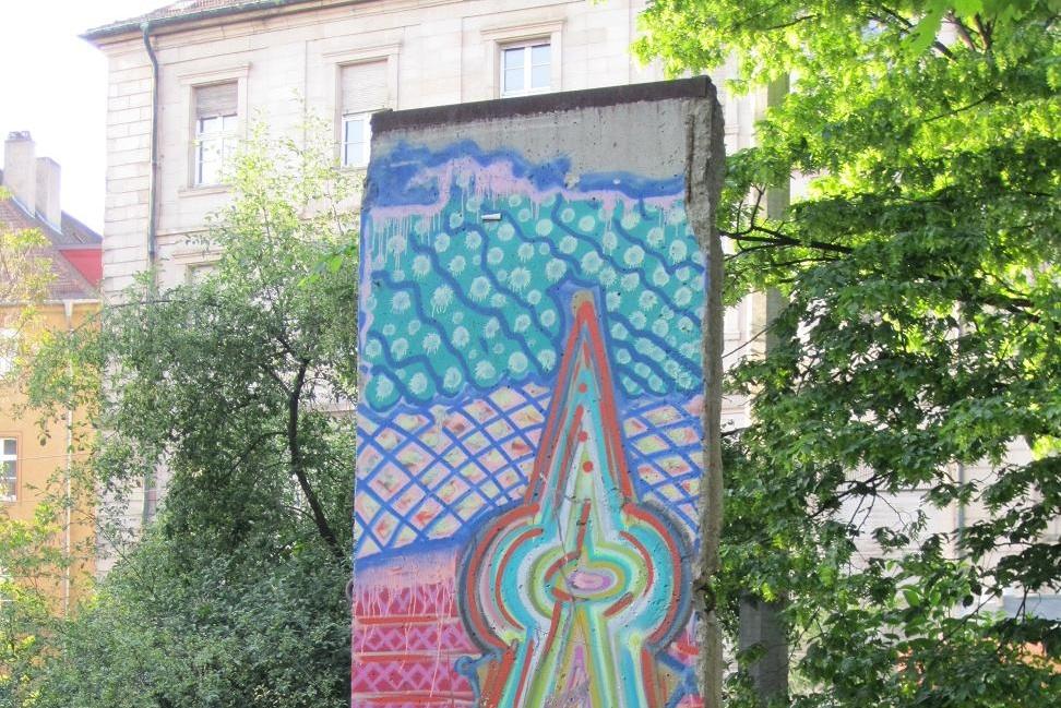 Berliner Mauer in Würzburg