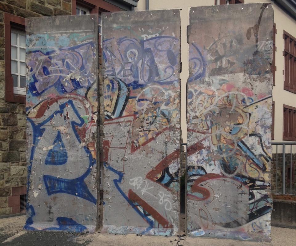 Berliner Mauer in Kronberg