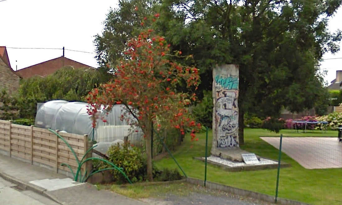 Berlin Mauer in Zwevele Wingene