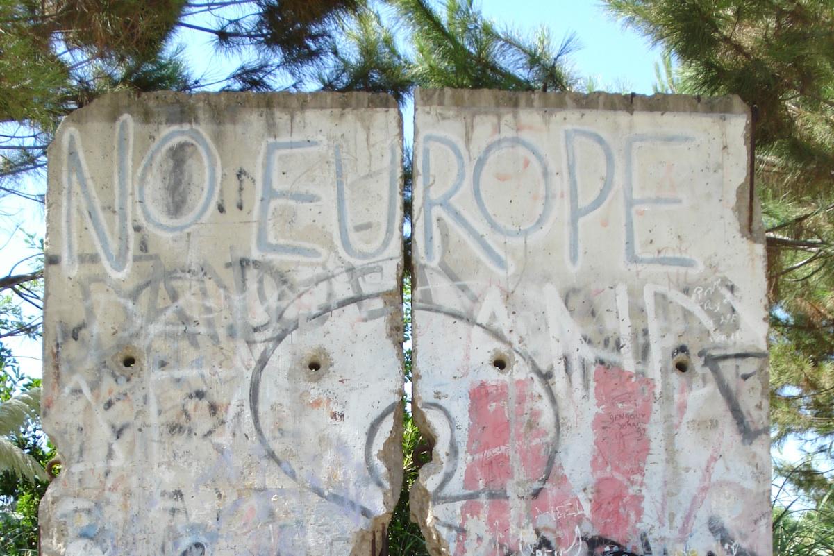 Berliner Mauer in Sevilla