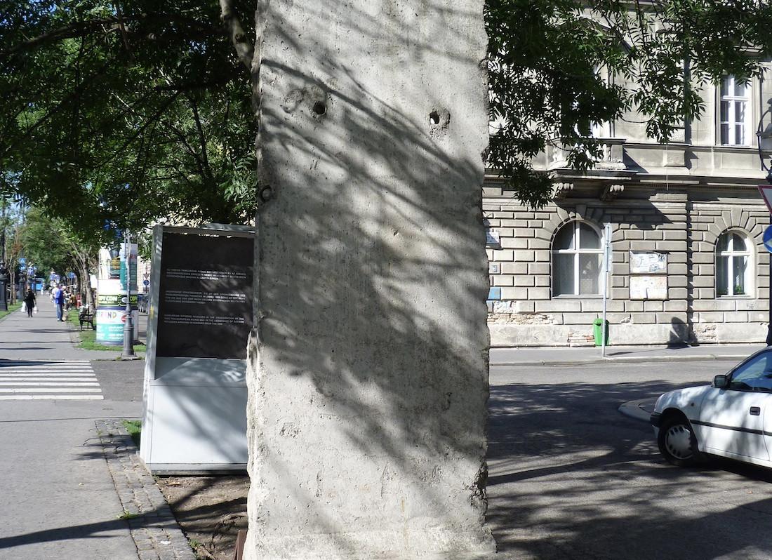 Berliner Mauer in Budapest, Ungarn