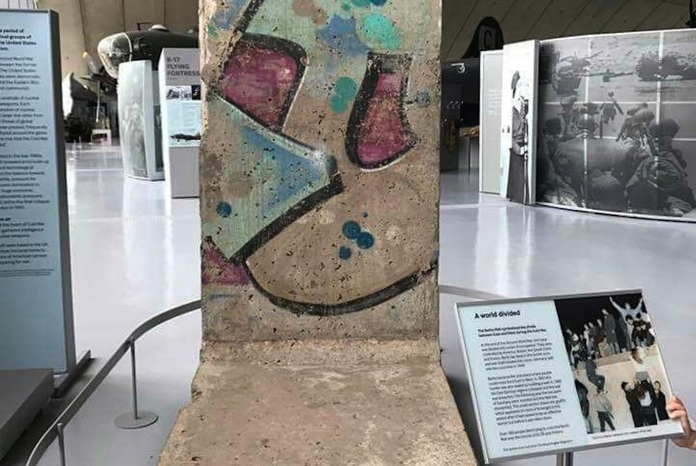 Berliner Mauer in Duxford, Groß Britannien