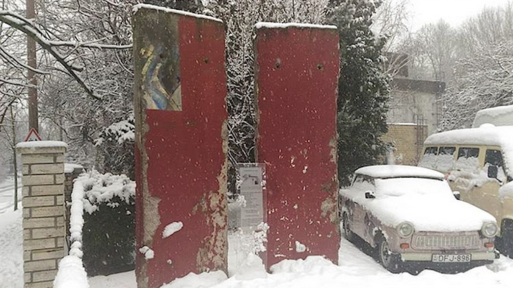 Berlin Mauer in Budapest