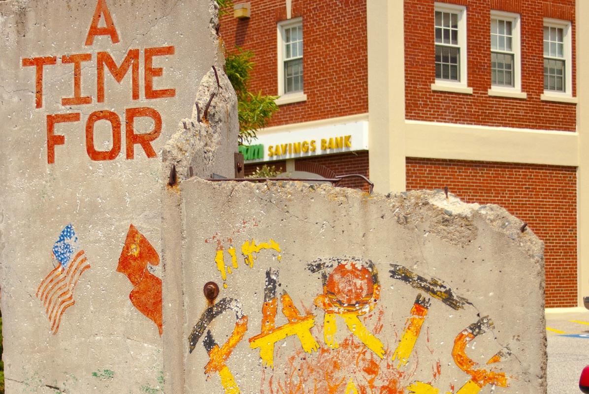 Berliner Mauer in Portland