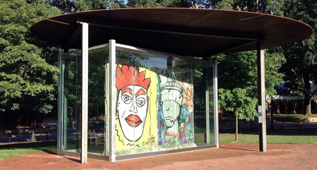 Berliner Mauer in Charlottesville