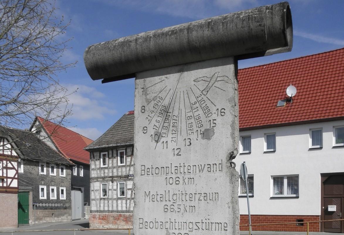Berliner Mauer in Silberhausen