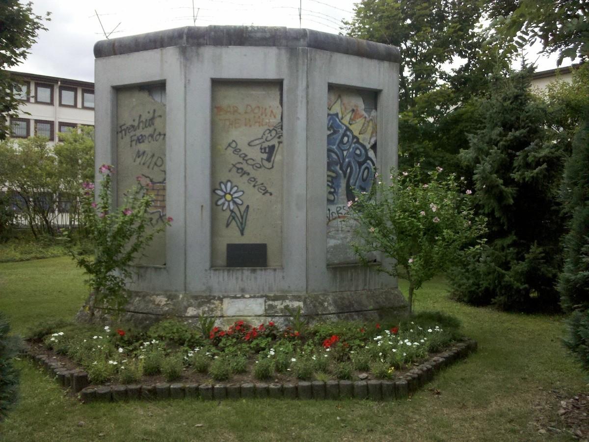 Berliner Mauer in Ramstein