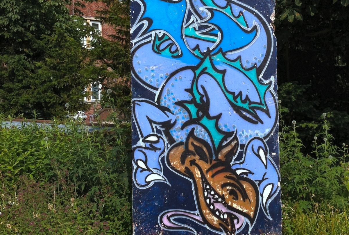 Berliner Mauer in Kiel