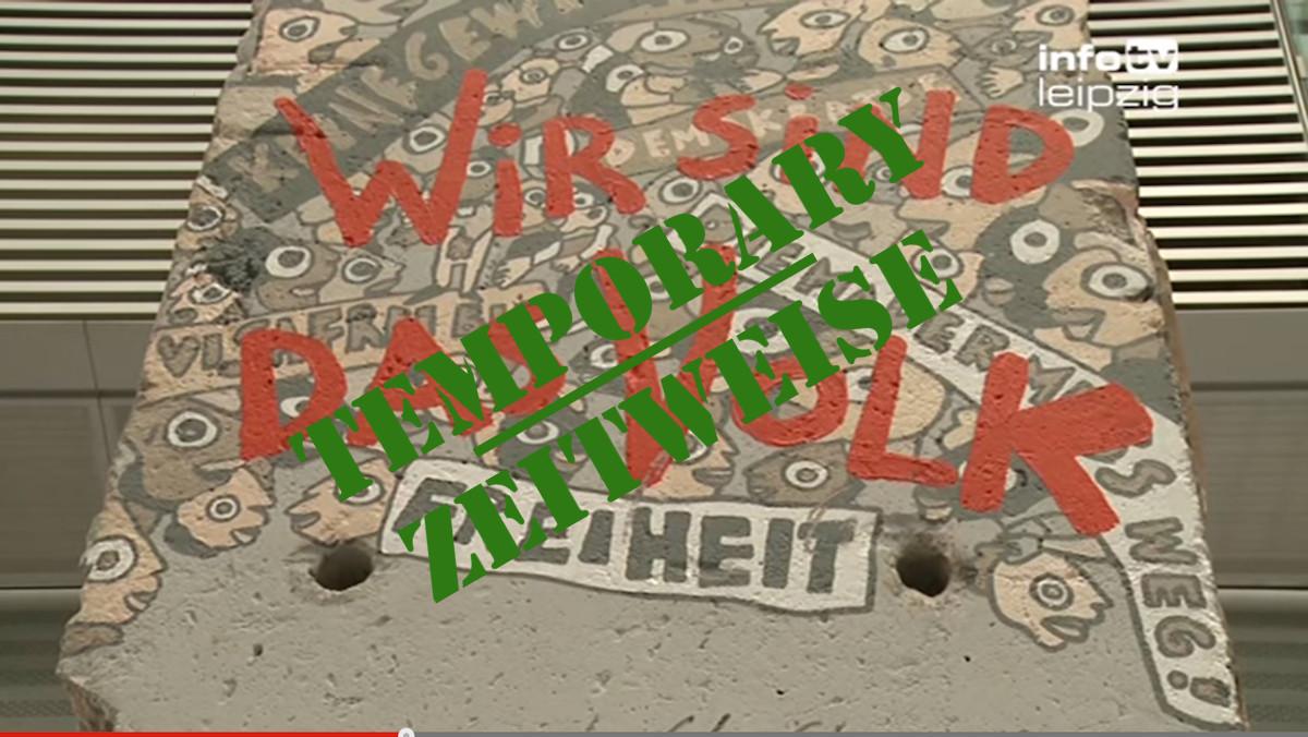 Berliner Mauer in Leipzig