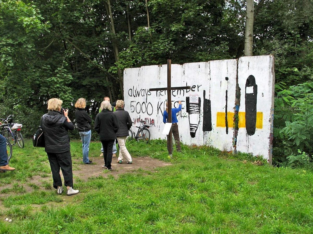 Berliner Mauer in Babelsberg