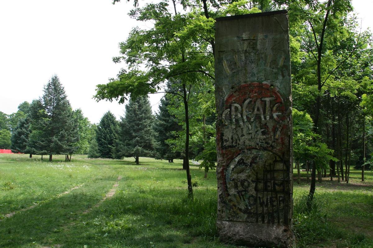 Berliner Mauer in Chalk Hill, Kentuck Knob