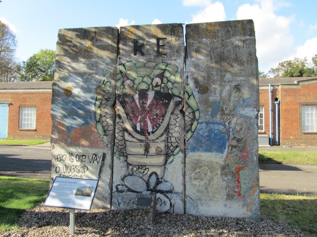 Berliner Mauer in Gillingham