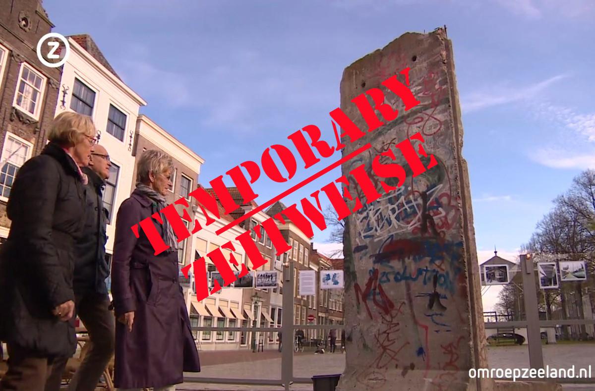 Berliner Mauer in Zierikzee