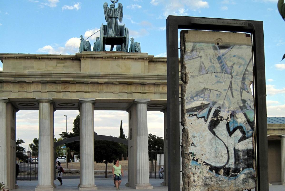 Berliner Mauer in Torrejon de Ardoz