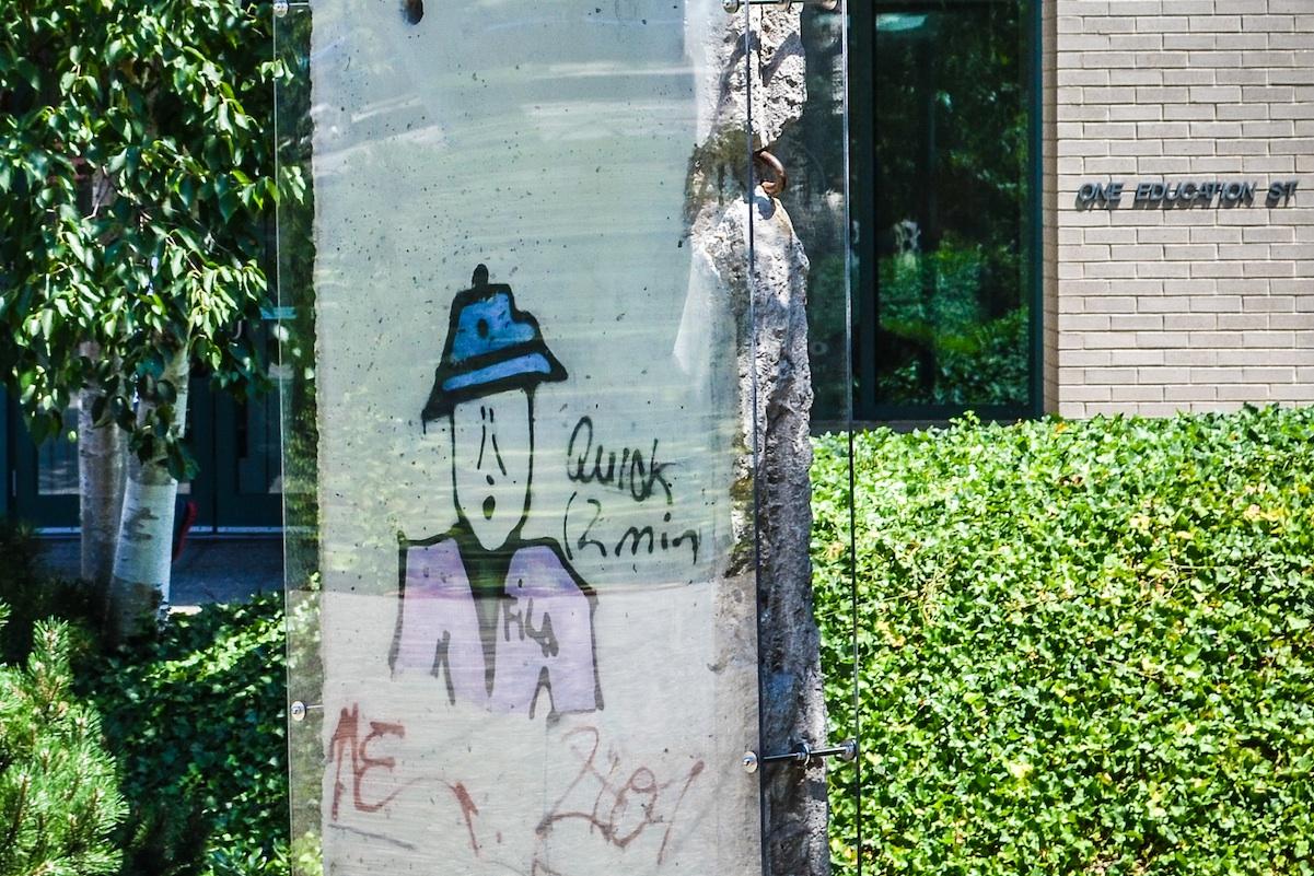 Berliner Mauer in Boston