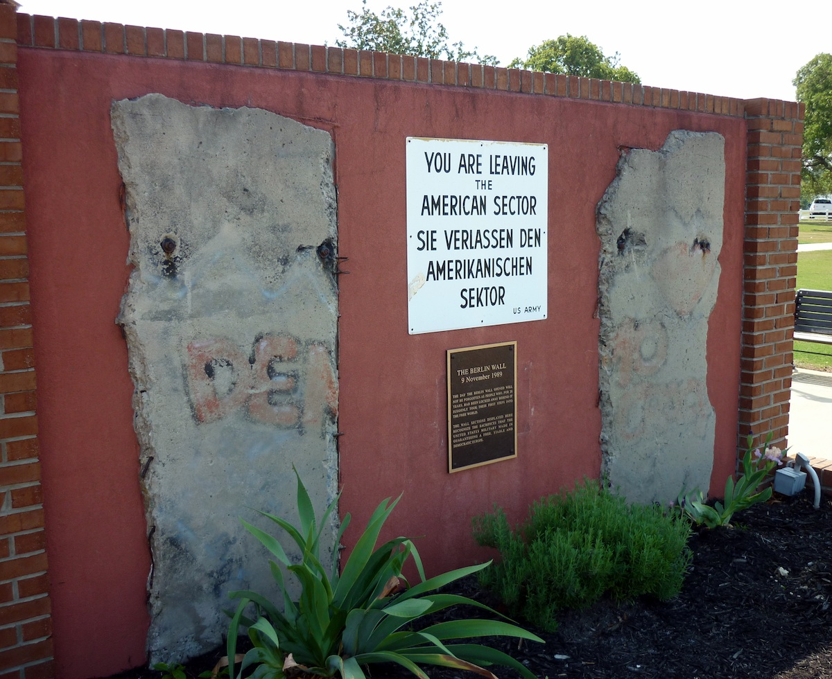 Berliner Mauer in Augusta
