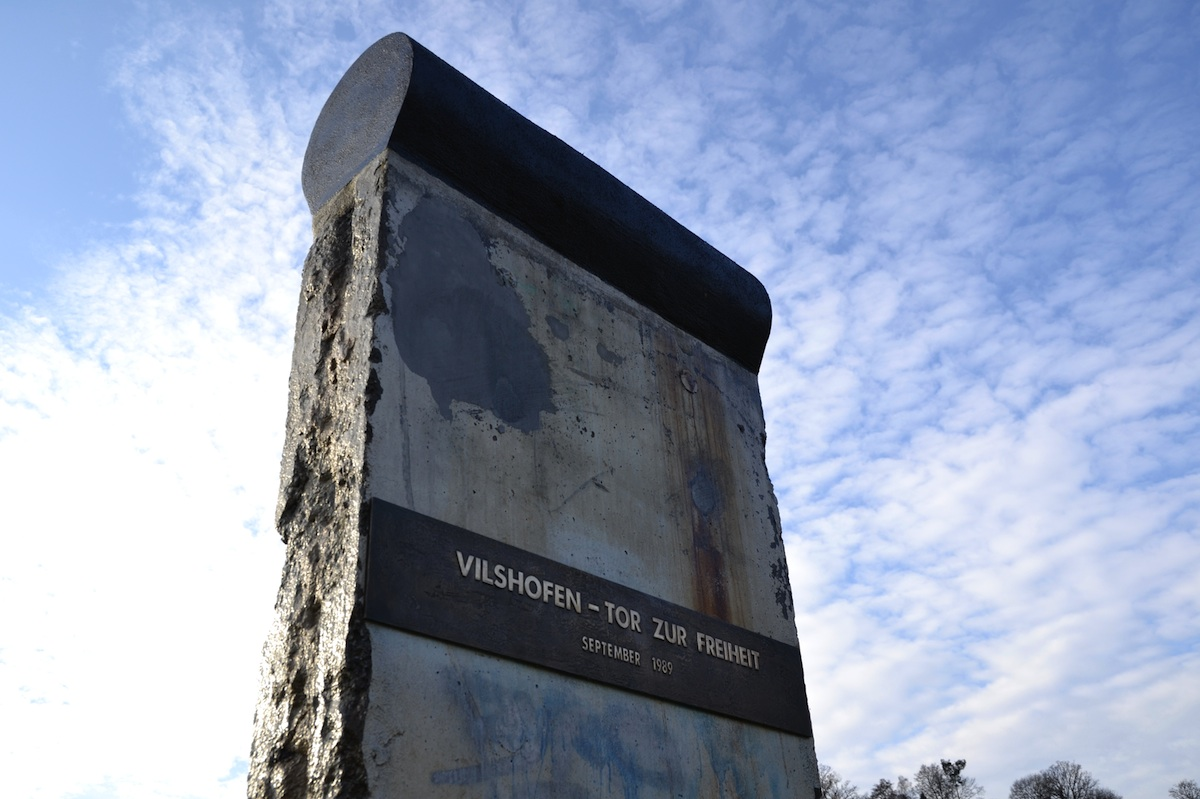 Berliner Mauer in Vilshofen