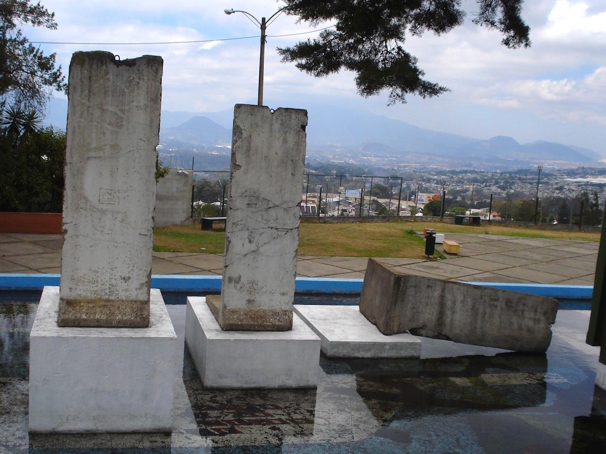 Berliner Mauer in Guatemala