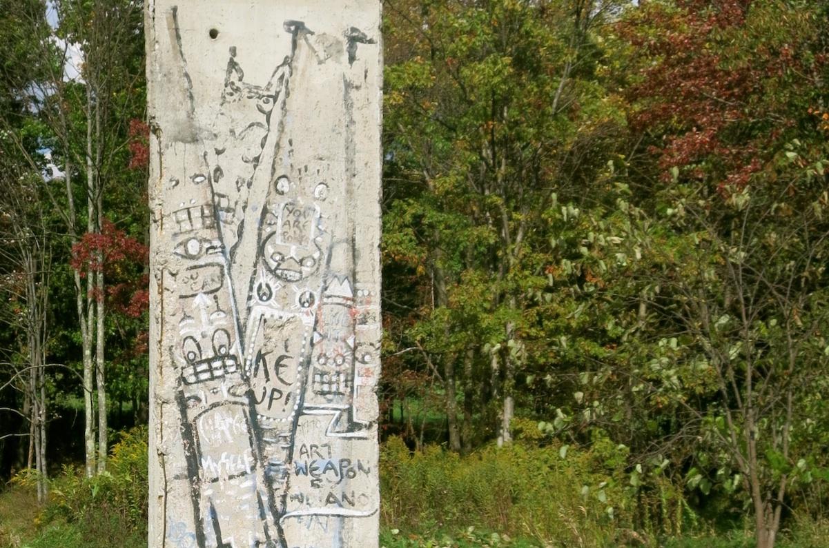 Berliner Mauer in Nemacolin