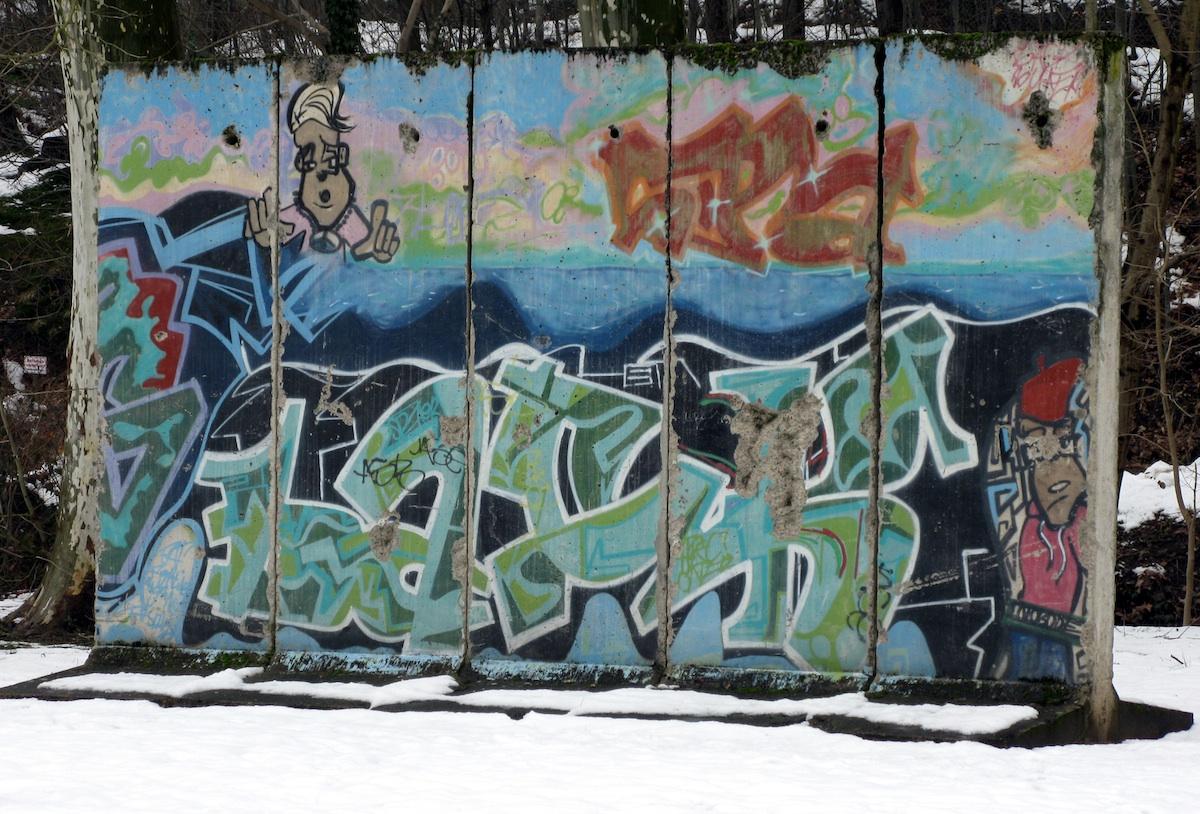 Berliner Mauer in Zell am Harmersbach