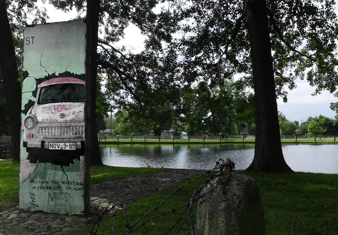 Berliner Mauer in Witnica