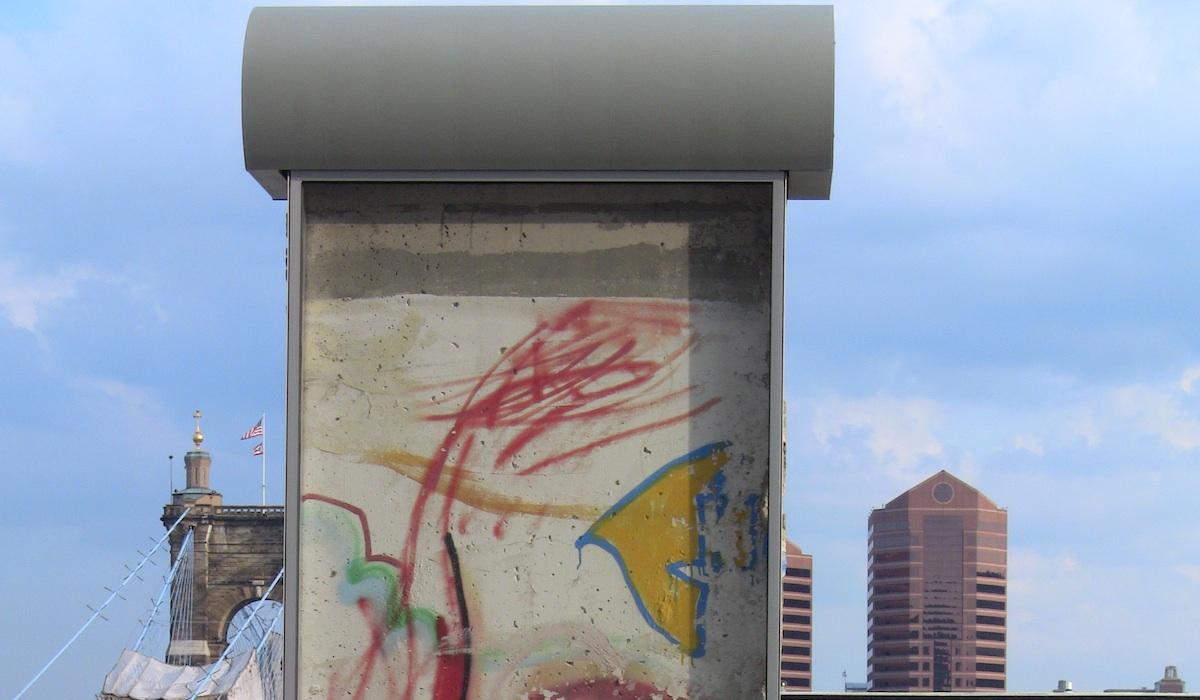 Berliner Mauer in Cincinatti
