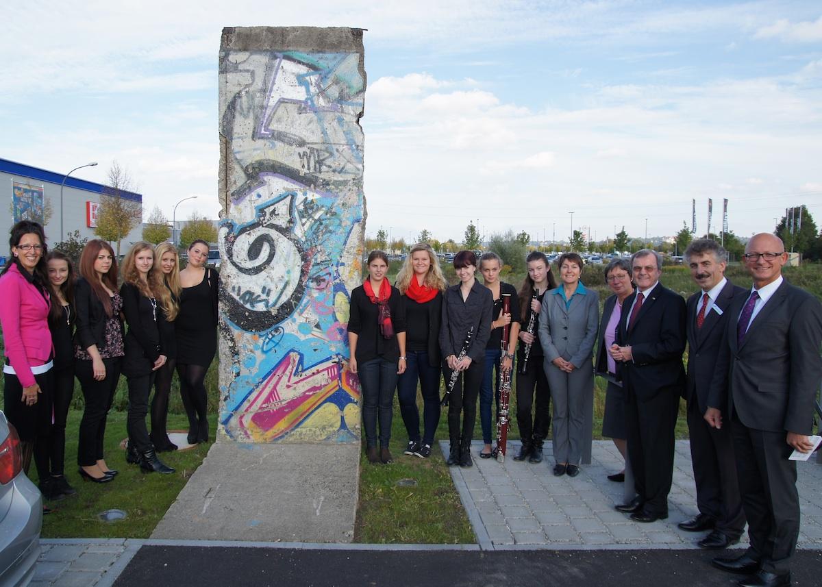Berliner Mauer in Landshut