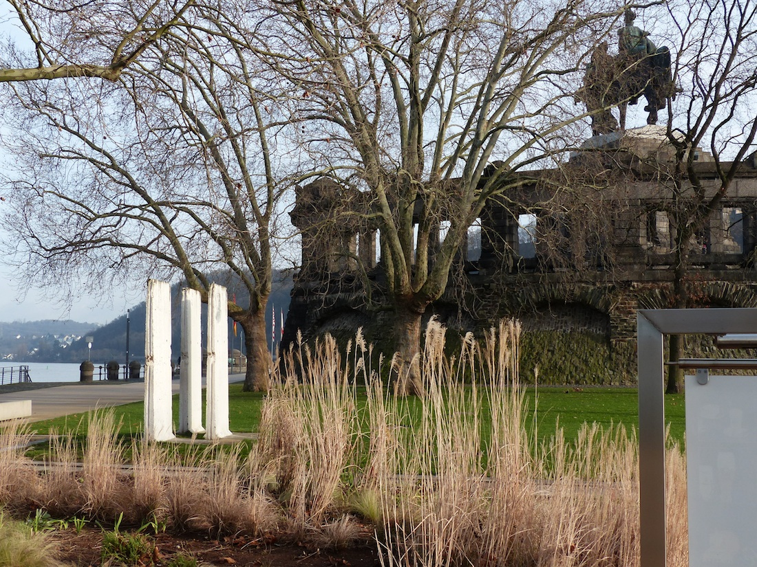 Berliner Mauer in Koblenz