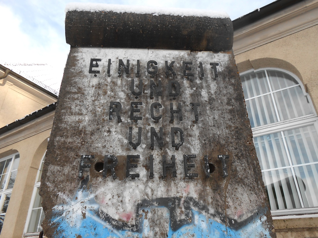 Berliner Mauer in Stetten am Kalten Markt