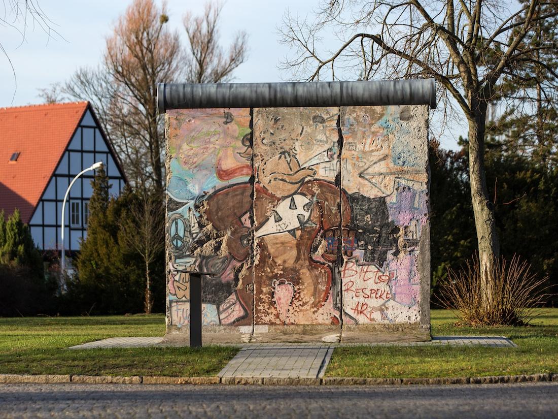 Berliner Mauer in Strausberg