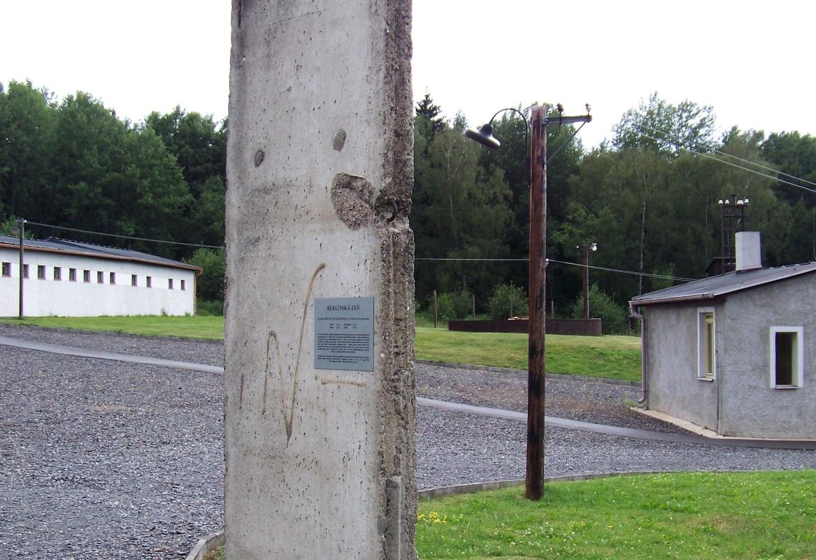 Berliner Mauer in Pribram