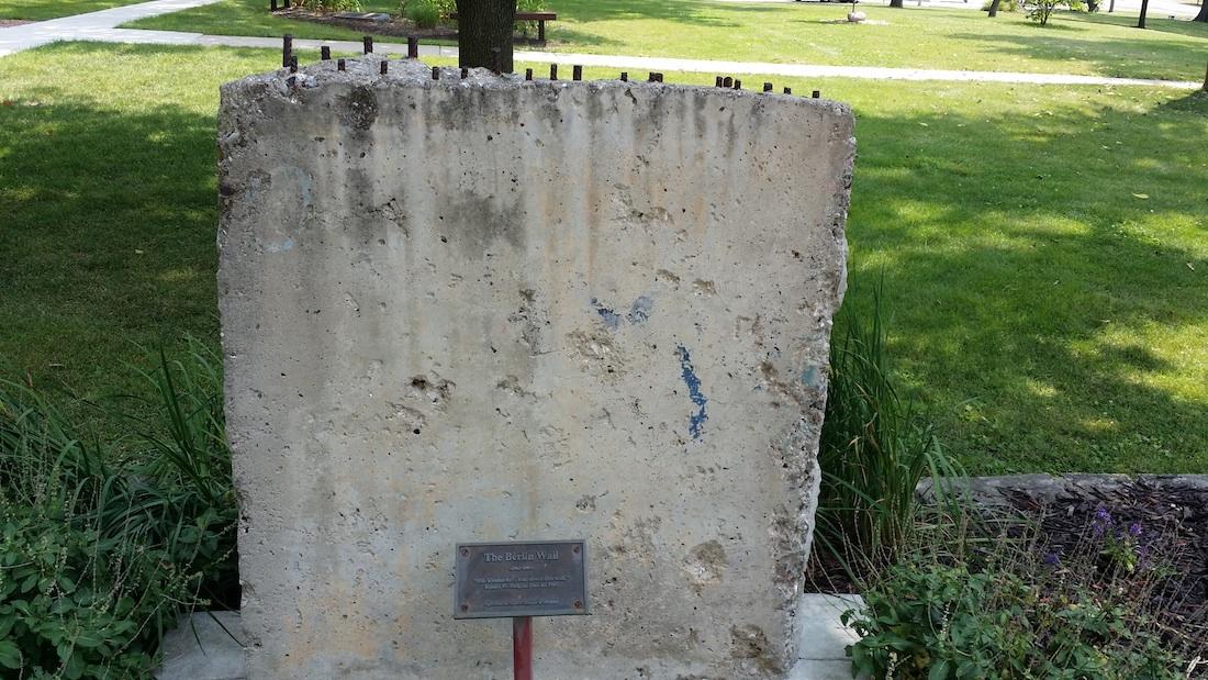 Berliner Mauer in Eureka