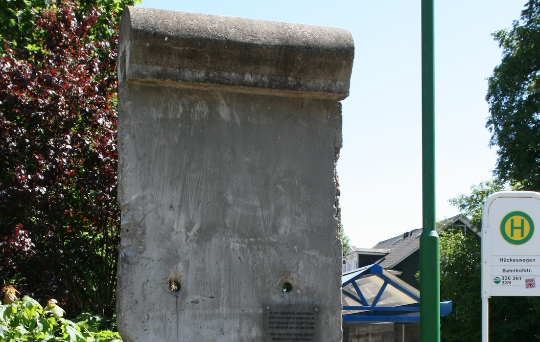 Berliner Mauer in Hückeswagen