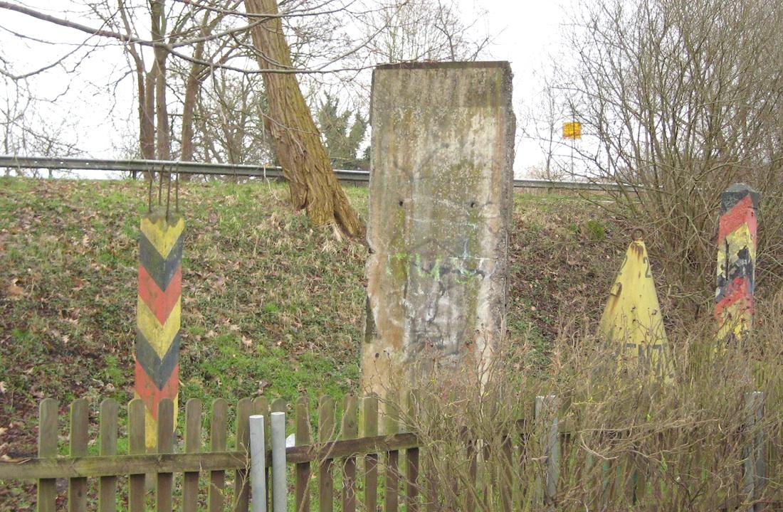 Berliner Mauer in Büchen