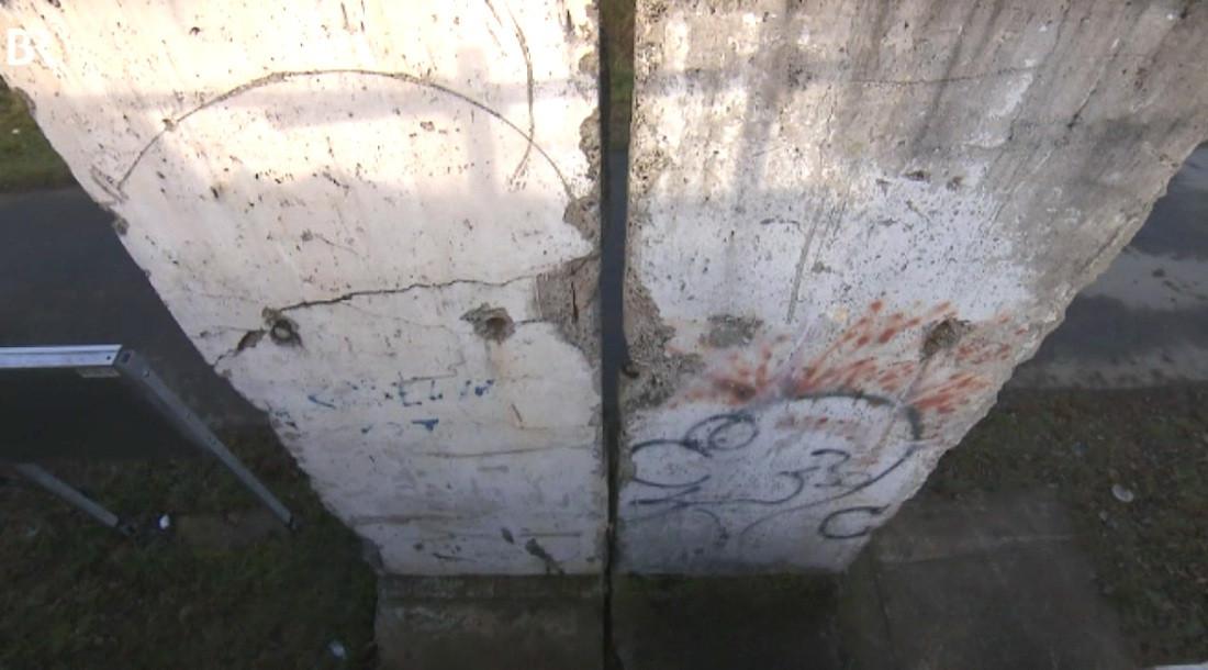 Berliner Mauer in Weiden