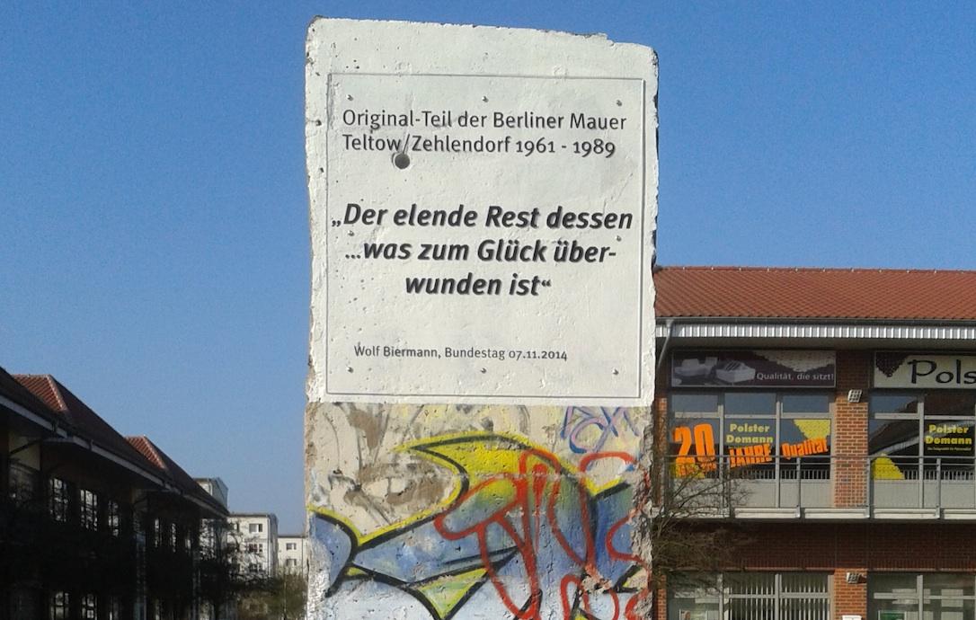 Berliner Mauer in Schwedt