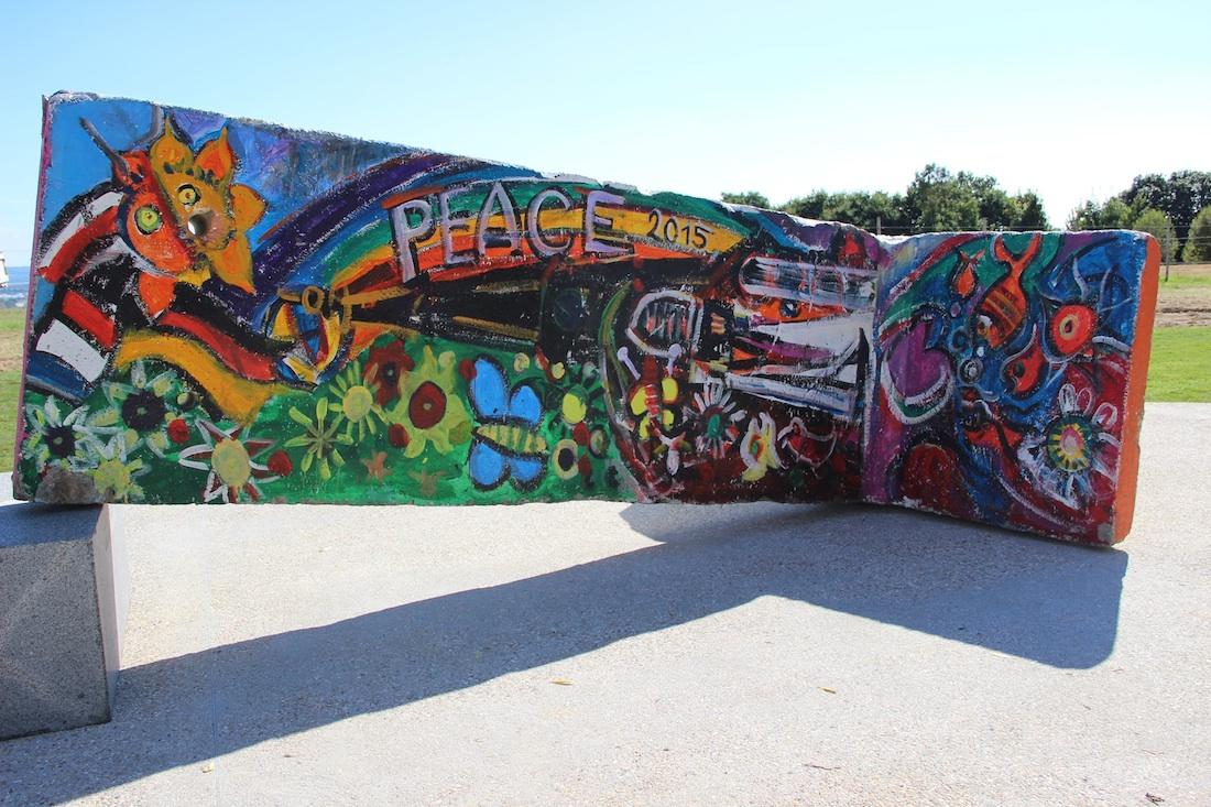 Berliner Mauer in Gongreville l'Orcher