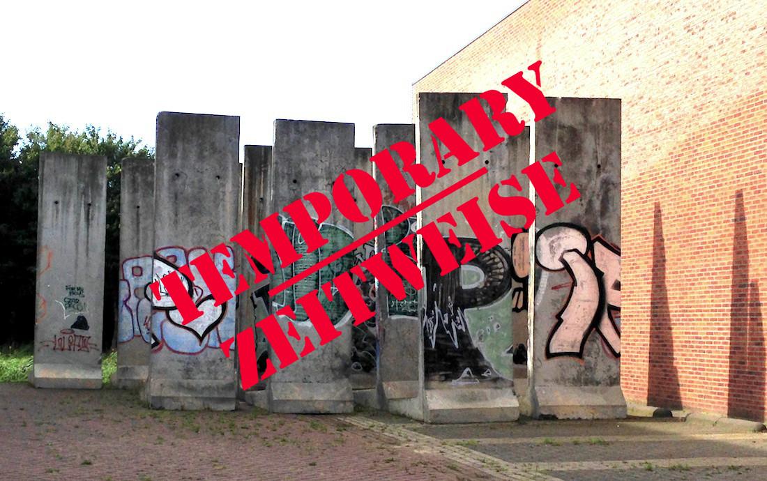 Berliner Mauer in Heemskerk