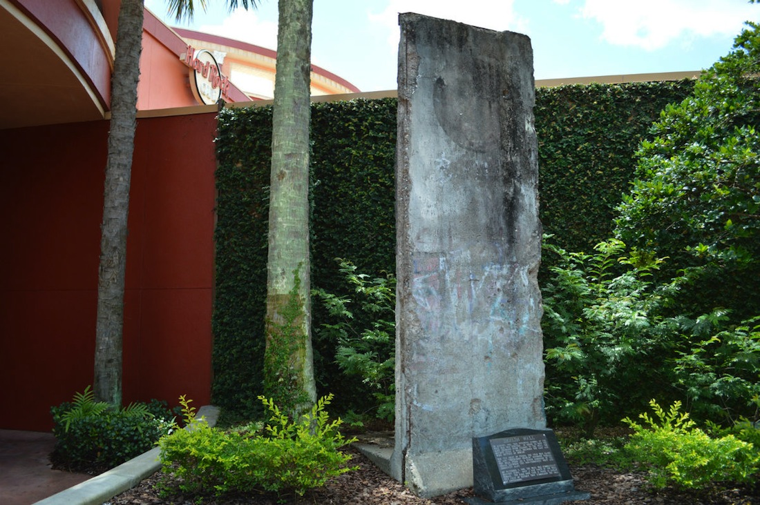 Berliner Mauer in Orlando, Florida