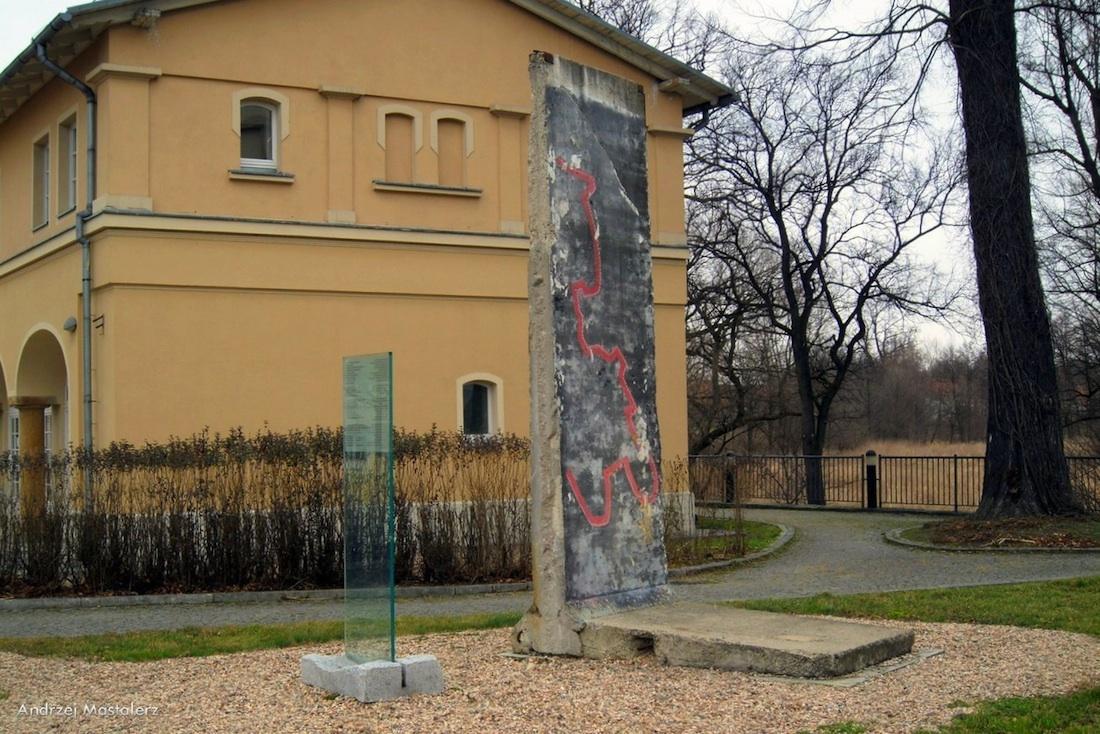 Berlin Wall in Krzyzowa/Kreisau, Polen
