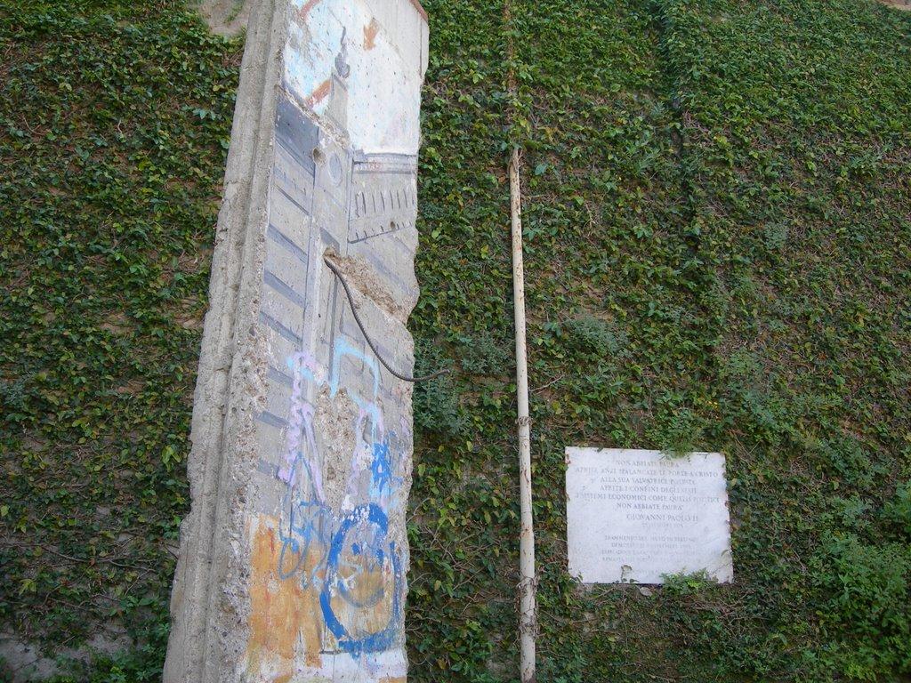 Berliner Mauer im Vatikan
