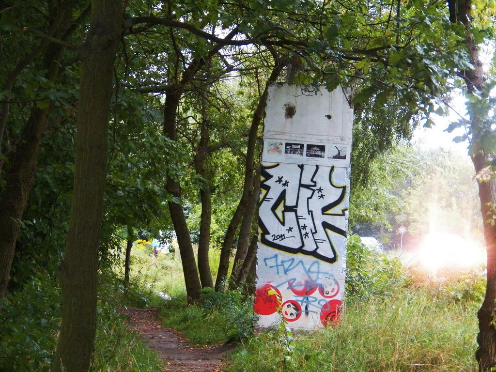 Berliner Mauer in Großbeeren-Heinersdorf, Deutschland