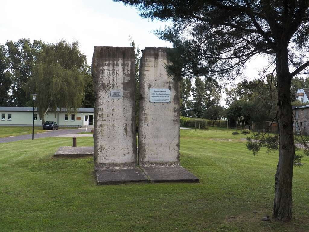 Berliner Mauer in Großbeeren-Osdorf, Deutschland